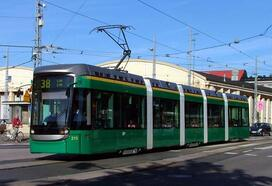 Moving by tram