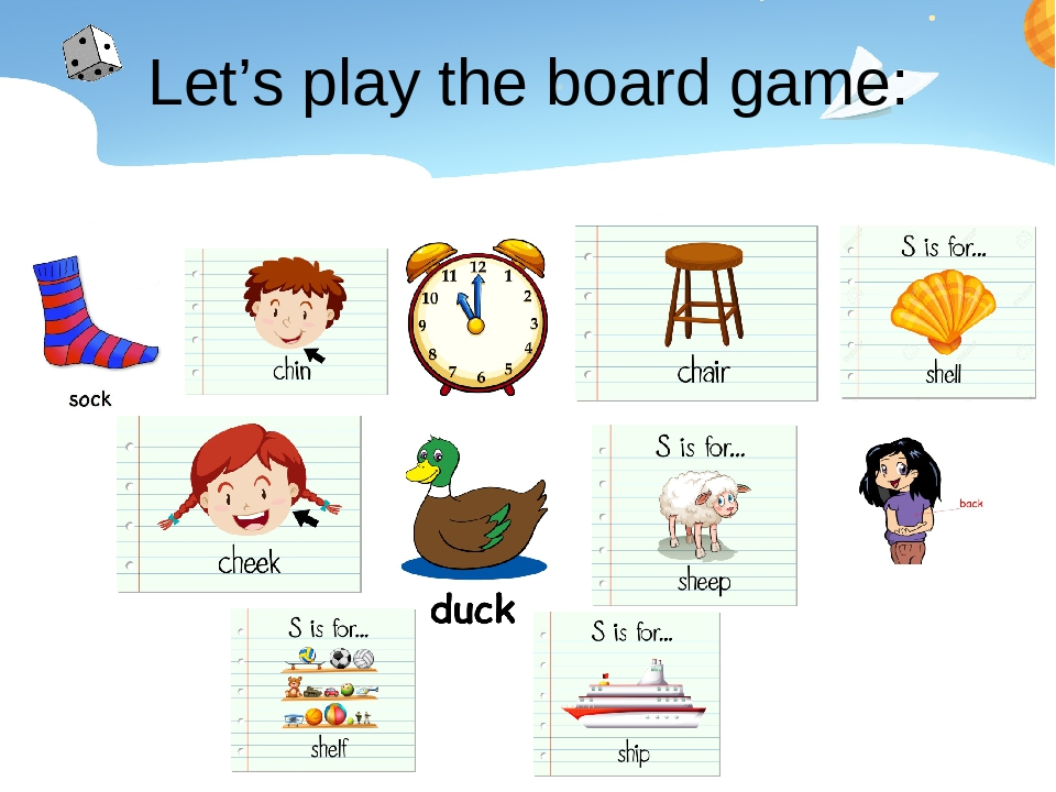Let's play the board game: