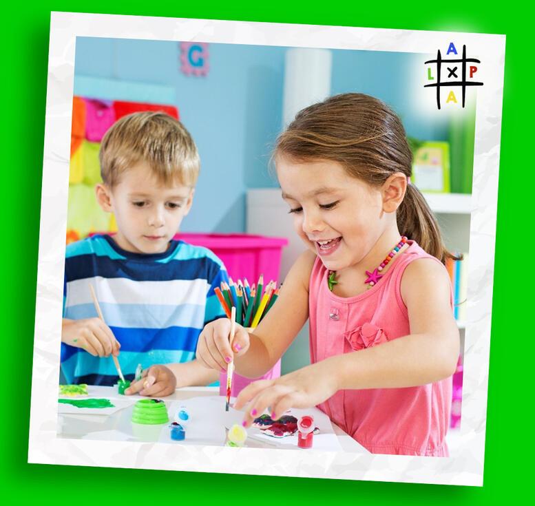 картинка олівці у стаканчику ALPA SCHOOL