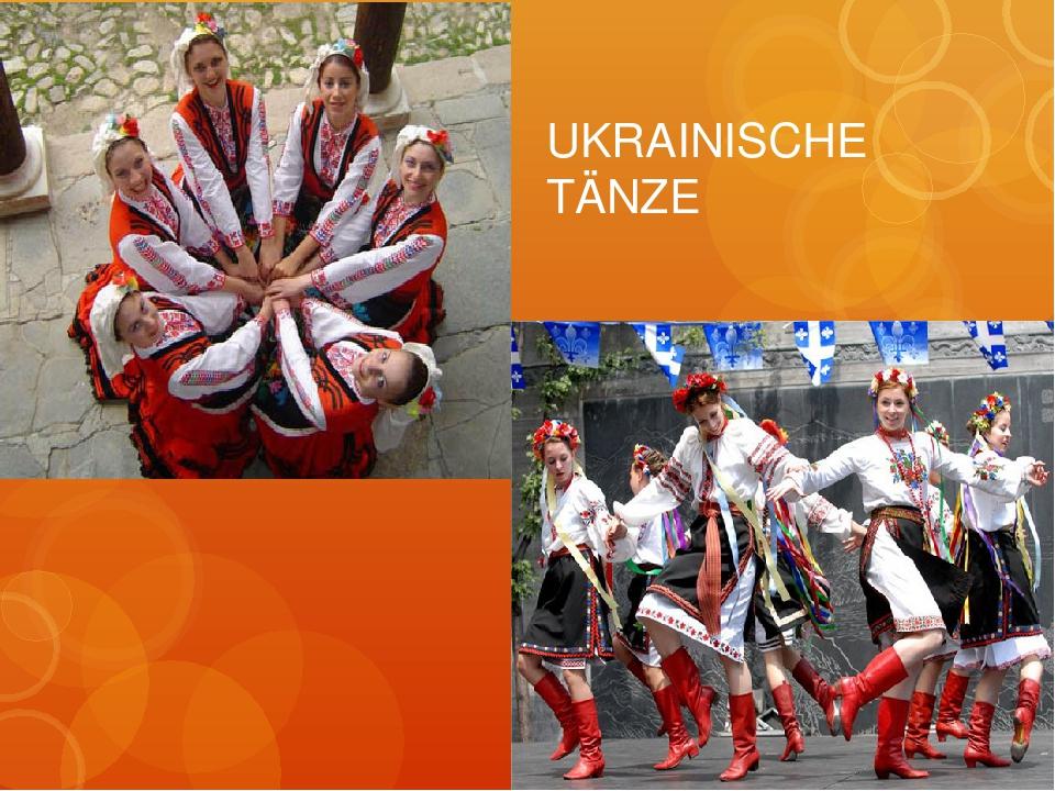 UKRAINISCHE TÄNZE