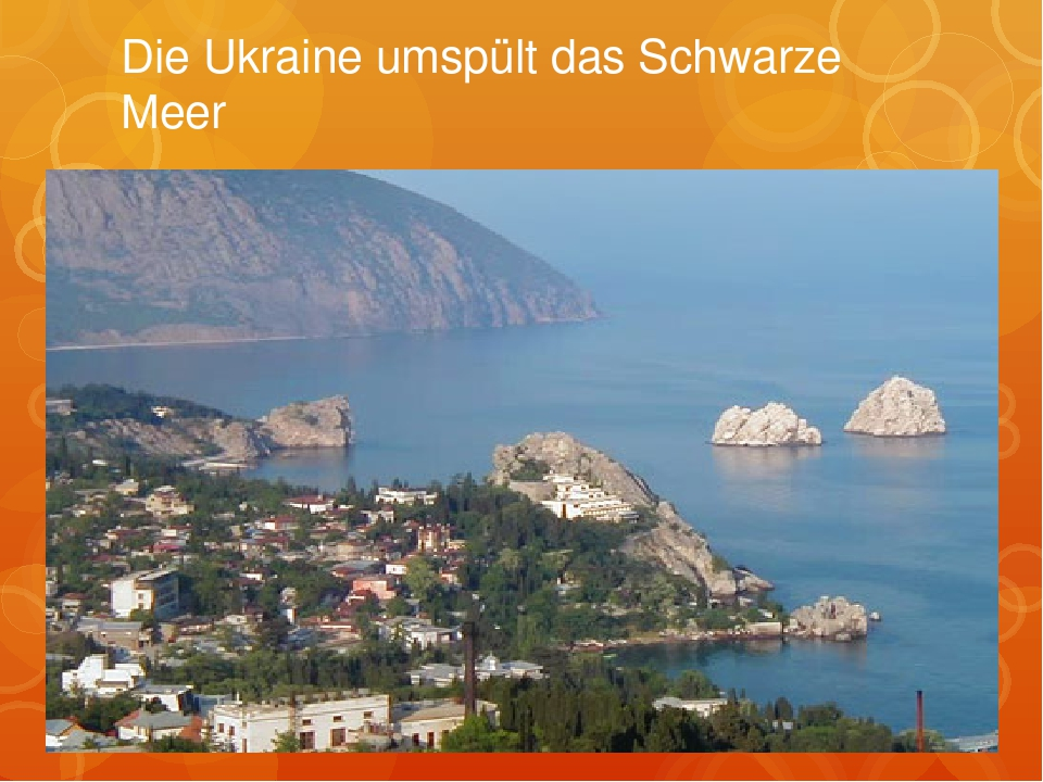 Die Ukraine umspült das Schwarze Meer
