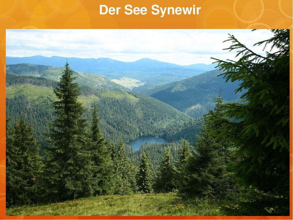 Der See Synewir