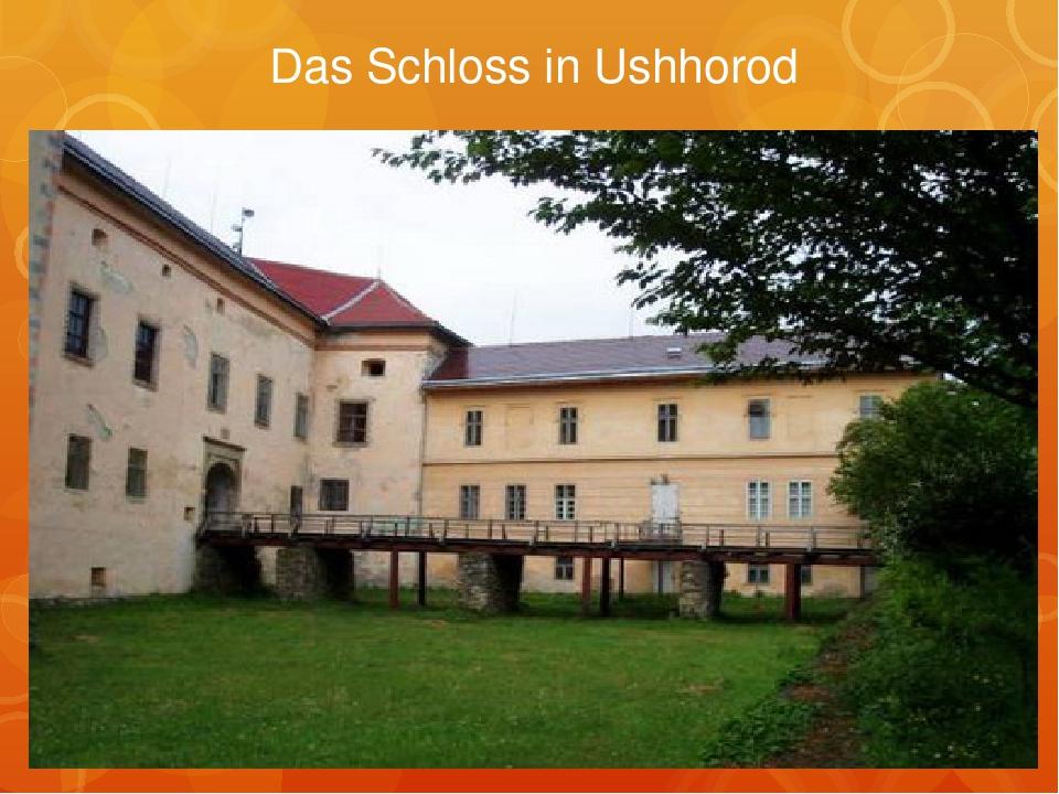 Das Schloss in Ushhorod