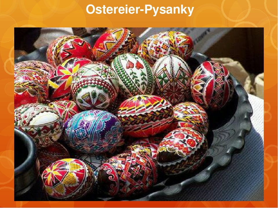 Ostereier-Pysanky