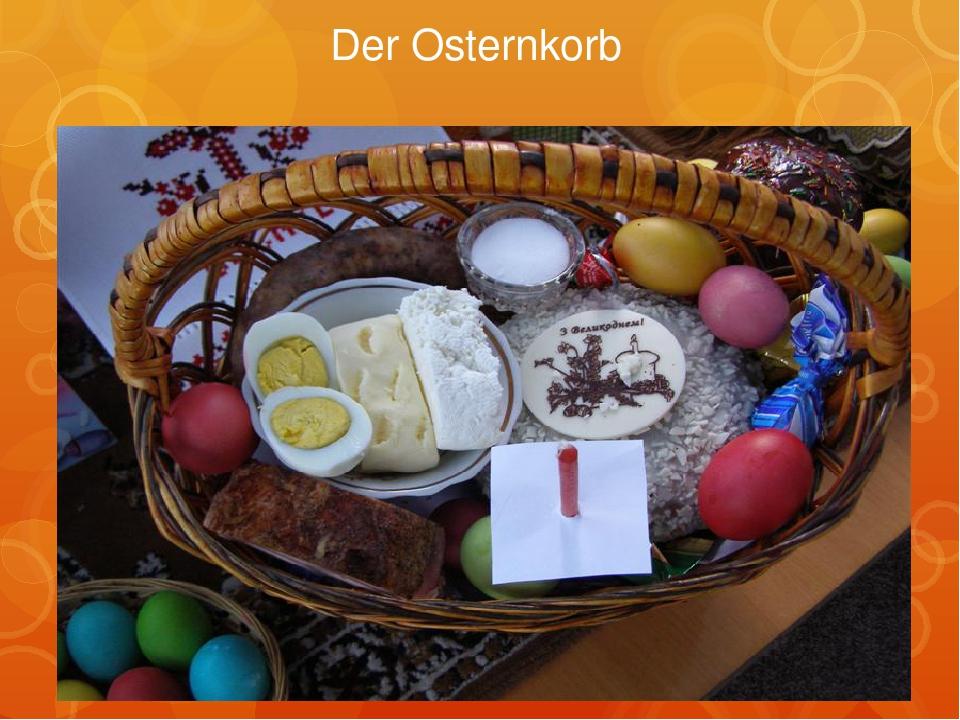 Der Osternkorb