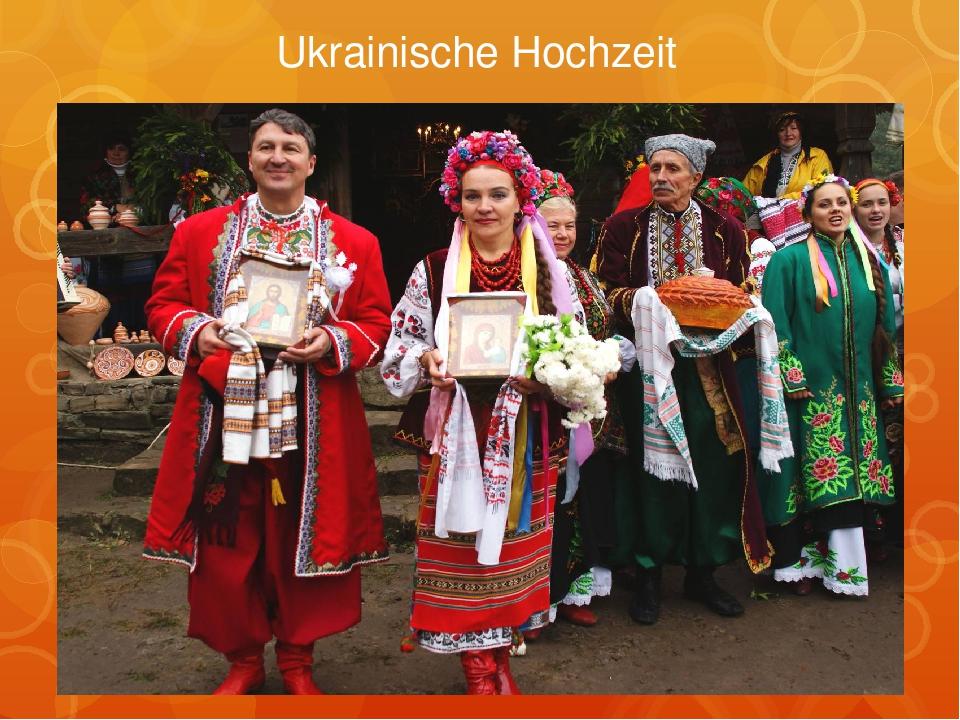 Ukrainische Hochzeit
