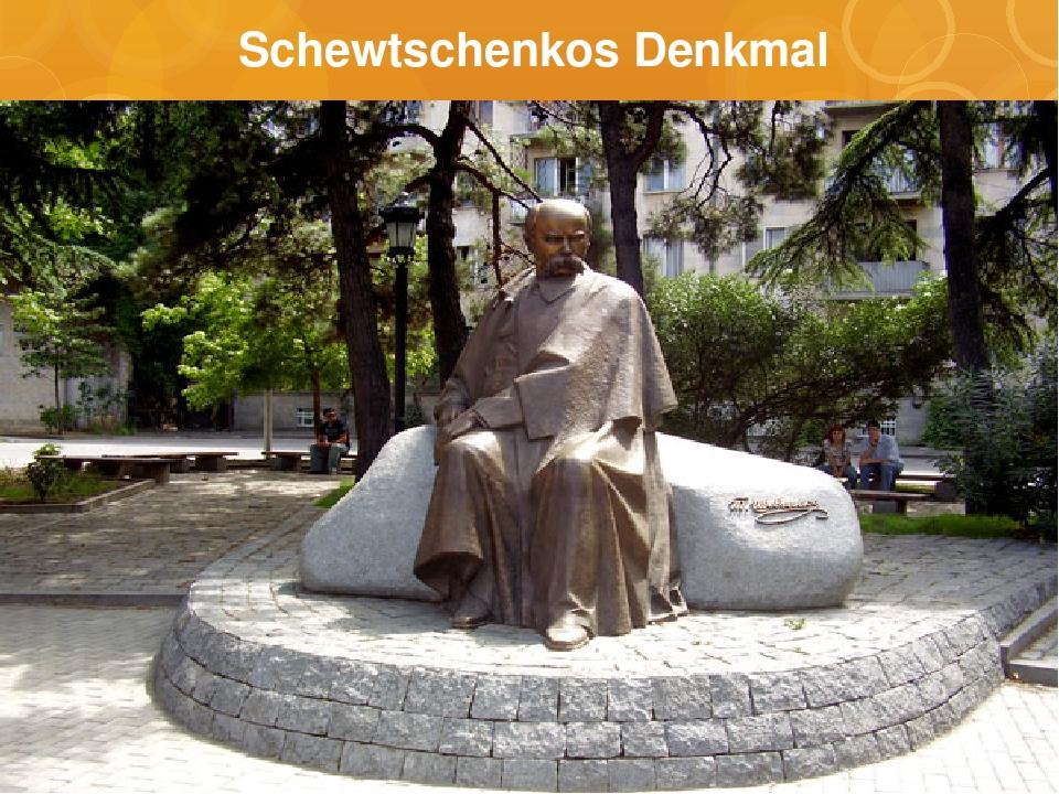 Schewtschenkos Denkmal