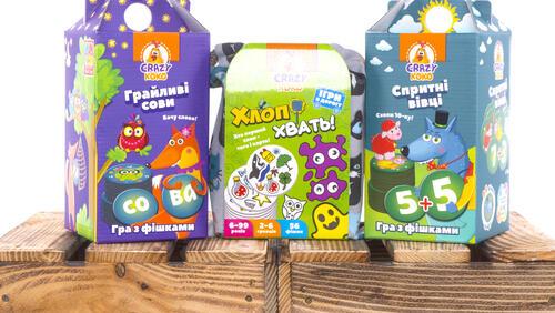 Зображення товару: Розвивальні настільні ігри Vladi-Toys