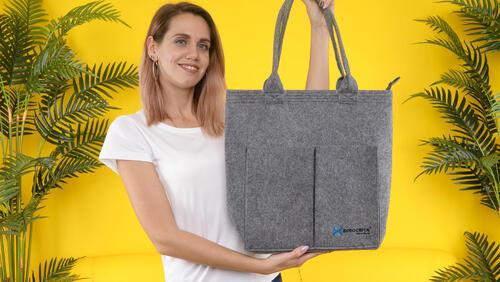 Зображення товару: Фетрова сумка