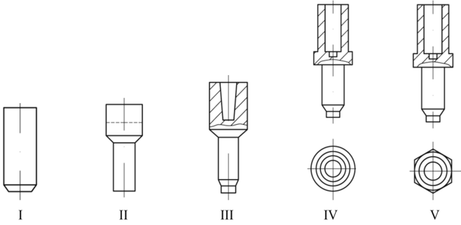 Примеры технологических процессов холодной объемной штамповки -  Кузнечно-штамповочное производство