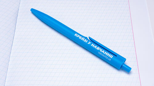 Зображення товару: Ручка  «Крейзі у навчанні💙».