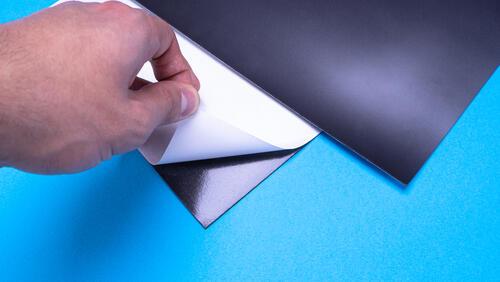 Зображення товару: Магнітний лист А4 з клейовим шаром 0.7мм