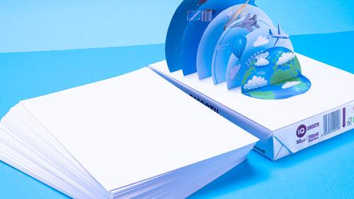 Зображення товару: Папір для розробок A4 160г/м², 250 аркушів