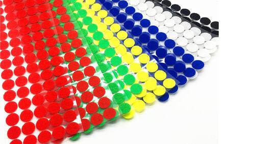 Зображення товару: Липучки круглі на клейовій основі