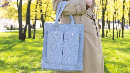 Зображення товару: Фетрова сумка «Максі»