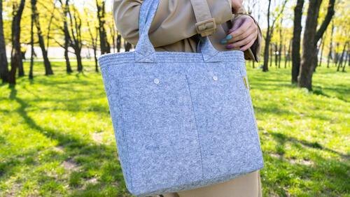 Зображення товару: Фетрова сумка «Класік»