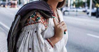 Дизайн одягу в стилі українського етно