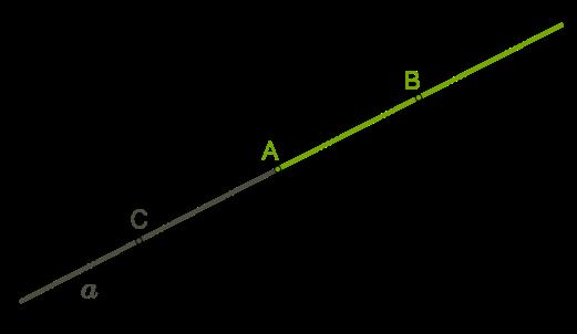 Промінь і кут — урок. Геометрія, 7 клас.